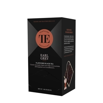 TE Luxury Earl Grey 15  Bags à 3,5 g